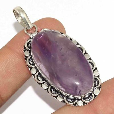 """Z8956 Amethyst Lace 925 Silver Plated Pendant 2.2"""""""