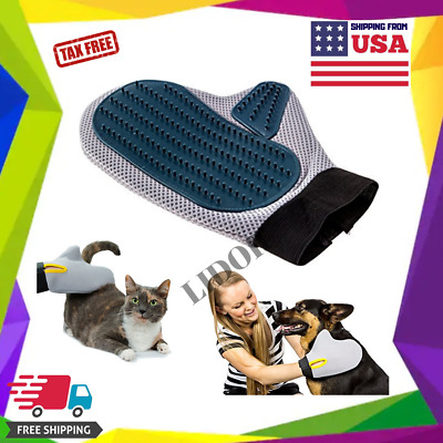Pet Grooming Glove for Dog/Cat Brush Fur Hair Removal Massage De-Shedding Tool