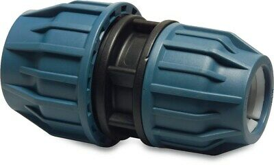 MDPE Plastic Compression Reducer PE100 MDPE Water Pipe WRAS Approved