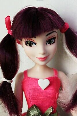 Disney Descendants Isle Style Switch Mal Doll Articulated Redressed Lovely