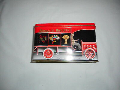 ARNOTT'S RED TRUCK SA.001 BISCUIT TIN  450g