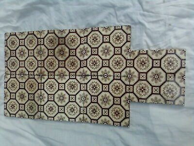 A Set Of 7 Matching Victorian, Minton Fireplace Tiles