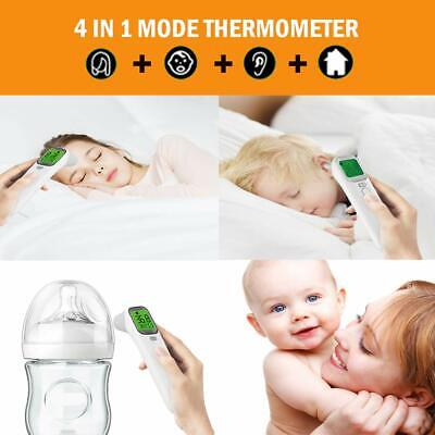 MuZhuo Ear and Forehead Thermometer, [2019 New] Professional Precision Digital I