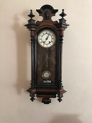 Stunning Antique American Wall Clock. Needs Attention