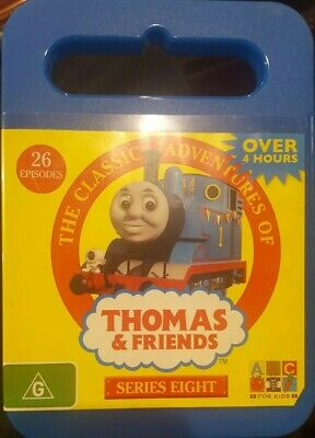 The Classic Adventures Of Thomas And Friends Rare Dvd Children's Tv Series Eight