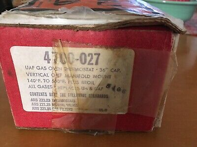 Robertshaw 4700-027 UAF Domestic Gas Oven Thermostat Uni-Line NOS