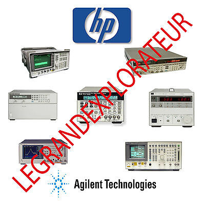 HP Agilent Keysight Oscilloscope Operation & Service Manual s Collection   3 DVD