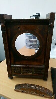 Seth Thomas  wooden mantle clock case ONLY