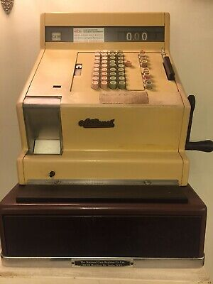 Vintage National Cash Register Till In Full Working Order