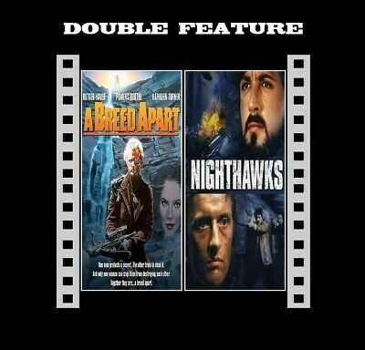 A Breed Apart / Nighthawks ( Rutger Hauer ) compatible in R2 NEW DVD