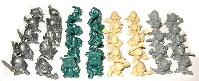 23 plastic figures Castle Craft Army Barbarians Tehnolog Crusaders 28mm Orcs