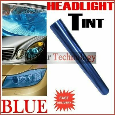1m BLUE Car Van Vehicle Headlight Tail Lights Tinting Wrap Protection Film
