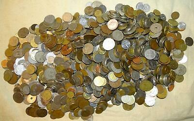 15 Pound Bag of Foreign Coins (Lot B-168) - ±1500 Coins