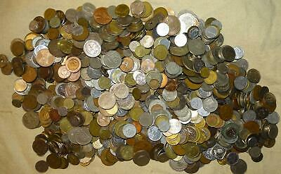 11½ Pound Bag of Foreign Coins (Lot B-169) - ±1150 Coins