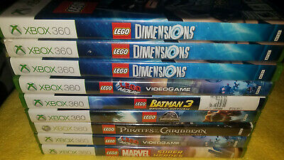 Several Lego Xbox 360 games (Each Sold Separately)