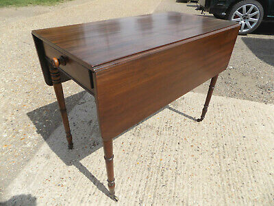 mahogany,pembroke,table,drop side,extending,drawer,tall legs,antique,victorian