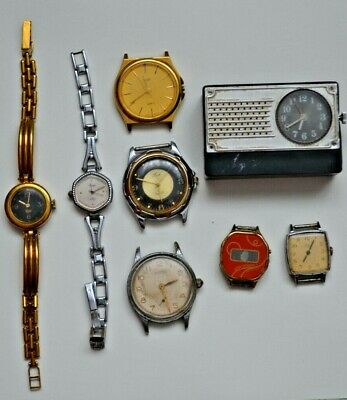 8 PCs lot set of watches of the USSR