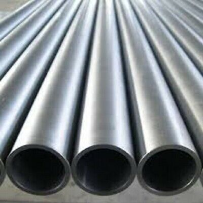 MILD STEEL SEAMLESS ROUND TUBE PIPE CDS 7.94mm to 50.8mm O/D 100mm to 500mm