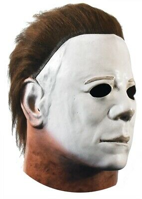 Michael Myers Deluxe Mask Halloween Officially Licensed Trick or Treat Studios