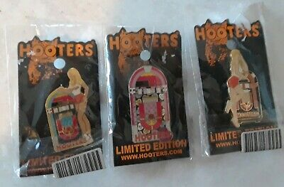 Limited Edition Hooters Pins