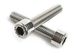 M1.6 M2 M2.5 A2 Stainless Steel Allen Bolt Socket Cap Screws Hex Head Din 912