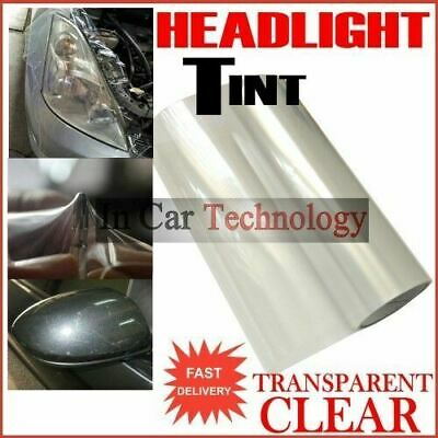 2m CLEAR Protection Film Car Van Vehicle Headlight Tail Lights Tinting Wrap