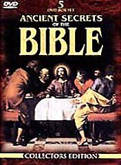 Ancient Secrets of the Bible Collection DVD 2000 5-Disc Box Set Free Shipping