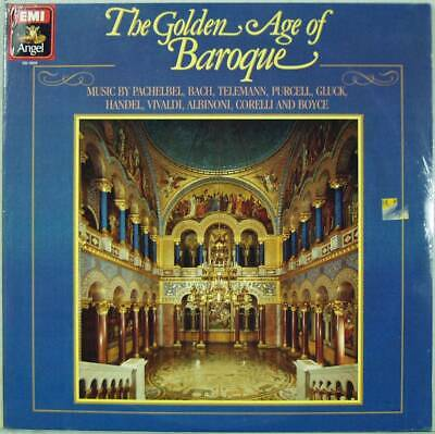 The Golden Age Of Baroque, Sealed Angel EMI 2-LP SB-3959, Various Orchestra 1984