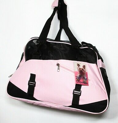 Pet Carrier Soft Sided For Small Dogs Or Cats Airline Approved Travel Bag