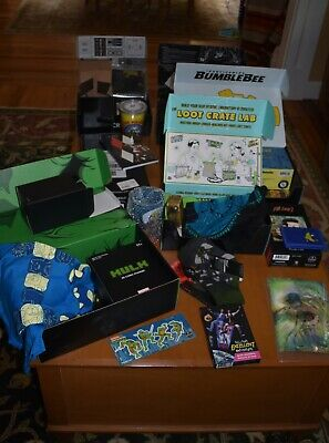Loot Crate Lot NEW Items - please view pics. too much to list