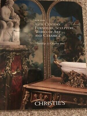 Christie's 2007 NY 19th Century Furniture, Works Of Art And Ceramics