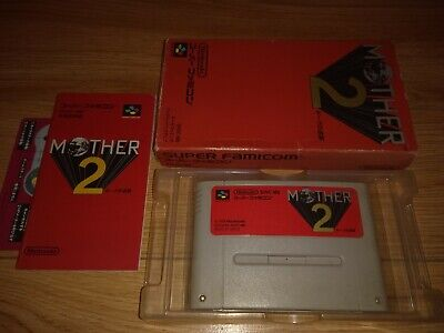 Mother 2 - Super Famicom Nintendo SFC SNES JP Japan Import II Earthbound