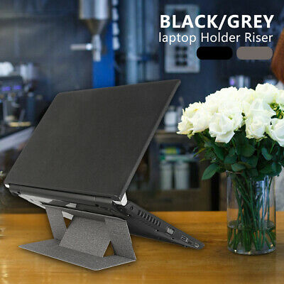 Portable Invisible Laptop Stand Holder Foldable Light Ergonomic Notebook Mount