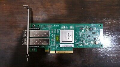 Qlogic QLE2562 8GB 2 SFP Dual-Port HBA PCI-E
