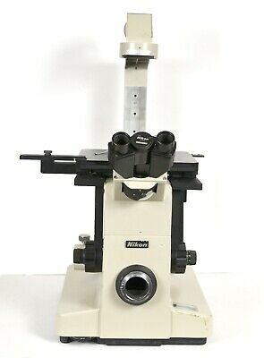Nikon Diaphot TMD Inverted Phase Contrast Microscope Base & Stage