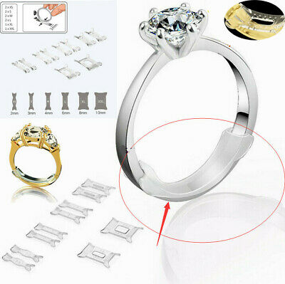 10-pack For Loose Ring Guard Invisible Size Adjuster Snuggies Ring Sizer Fitter