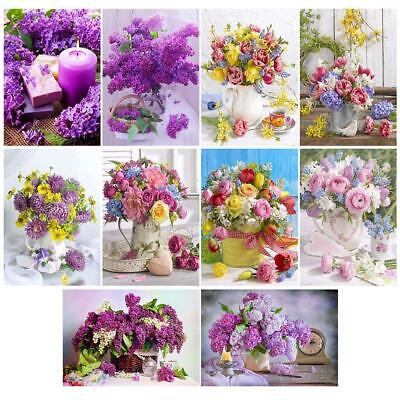 5D DIY Full Drill Diamond Painting Bouquet Cross Stitch Embroidery Mosaic BF#