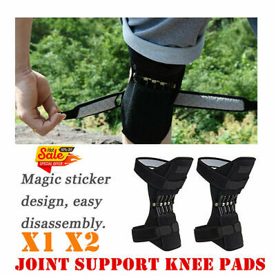 2Pcs  Power Knee Stabilizer Pad Lift Joint Support Powerful Rebound Spring Force