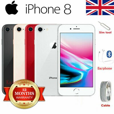 Apple iPhone 8 Smartphone 64/256GB Unlocked SIM Free Various Colours&Accessories