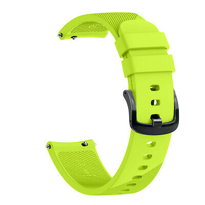 Replacement Silicone Watch Band For Garmin Forerunner 645/Vivoactive 3 Music