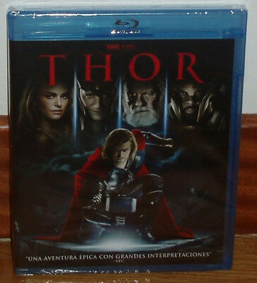 Thor Blu-Ray Neuf Scellé Action Aventures Anthony Hopkins (sans Ouvrir) R2