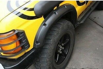 "Defender - Range Rover - Discovery - (+ 2"") ABS Plastic Wheel Arch Extensions"