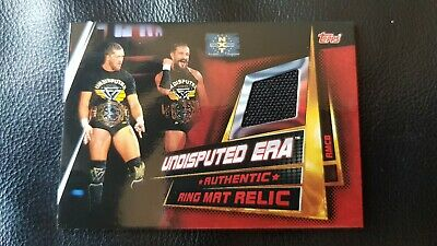 Topps Slam Attax Universe Ring Mat Relic Card #RMCB Undisputed Era - 1:41 Odds