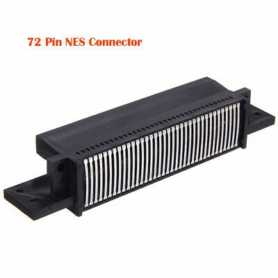 NEW 72 Pin Replacement Connector / Cartridge Slot Adapter For Nintendo NES