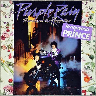 33t Prince and The Revolution - Purple rain (LP)