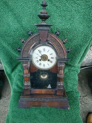American Alarm Mantel Clock For Restoration
