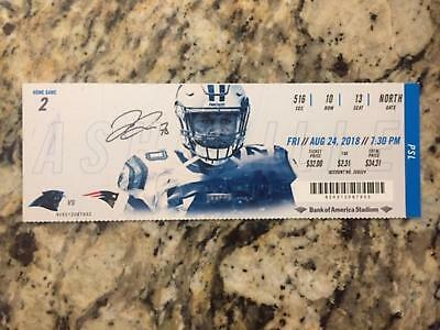 2018 Carolina Panthers Game FULL tickets - pick from the lot - Cam Newton, Olson