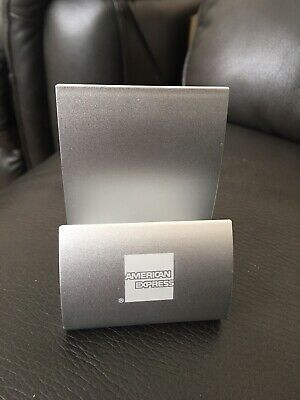 American Express AMEX : Business card holder - New 6 Packet To Sell In Total