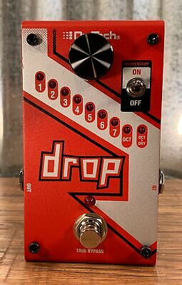 Digitech DROP  Polyphonic Drop Tune Pitch-Shifter Guitar Effect Pedal B Stock