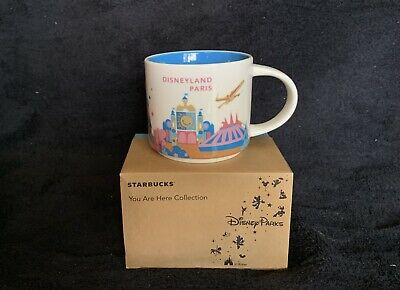 Starbucks Coffee Disney Parks You Are Here Collection Mug from Disneyland Paris
